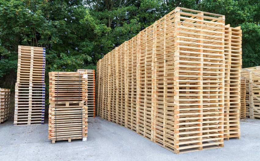 pallets supplier north wales
