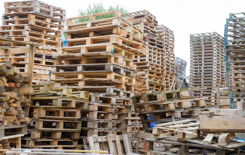 Pallets clearance and collection