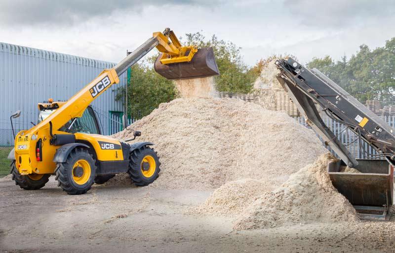 Grade A Woodchip Biomass Fuel