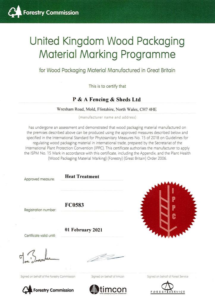 Heat Treatment Certificate